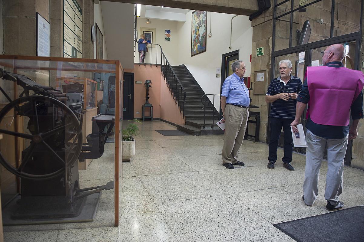 Emilio Campuzano ikastetxean ospitalea eta Arte Ederren Museoa egon ziren lehen. ©MONIKA DEL VALLE / FOKU