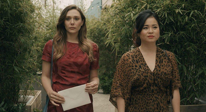 Elizabeth Olsen eta Marie Tran, Facebooken <em>Sorry for Your Loss</em> telesaileko aktore protagonistak. &copy;FACEBOOK WATCH