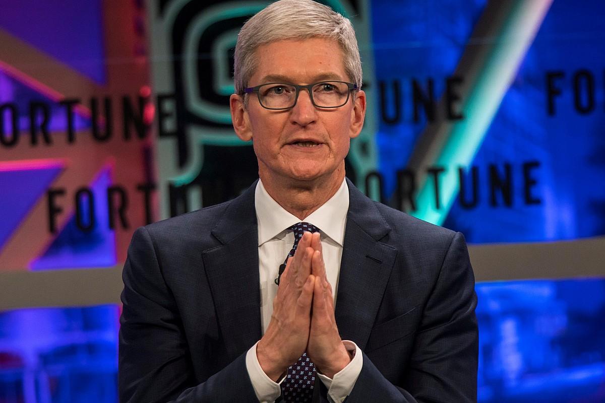 Tim Cook Apple konpainiako burua. ©ALEKSANDAR PLAVEVSKI / EFE