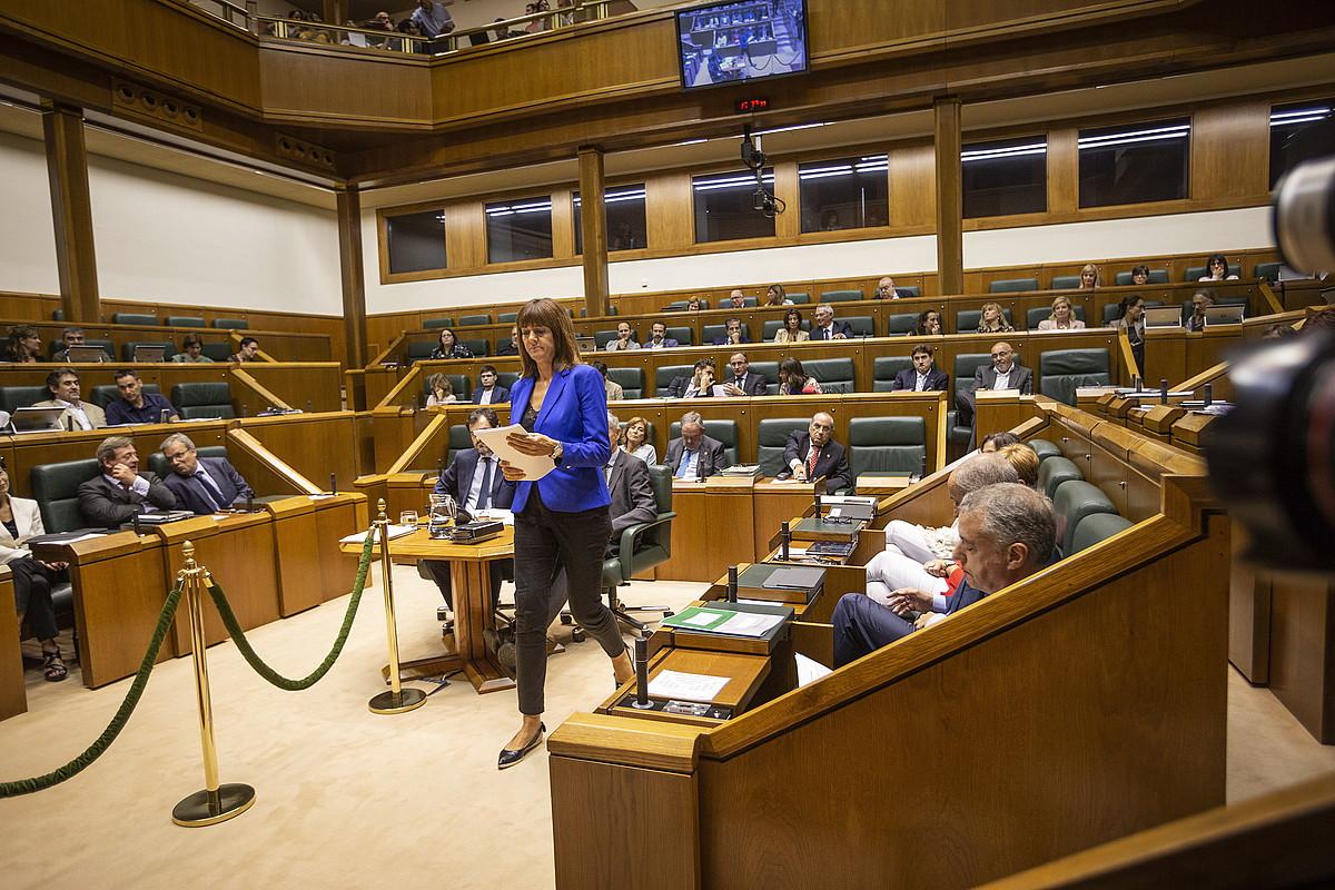 Eusko Legebiltzarrekolegebiltzarkideak EAEko Auzitegi Nagusian epaitu behar dituzte. ©ENDIKA PORTILLO / FOKU