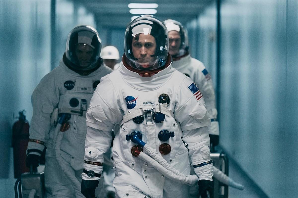 Damien Chazellek ondo ezagutzen duen aktore bat aukeratu zuen Neil Amstrongena egiteko: Ryan Gosling. ©BERRIA