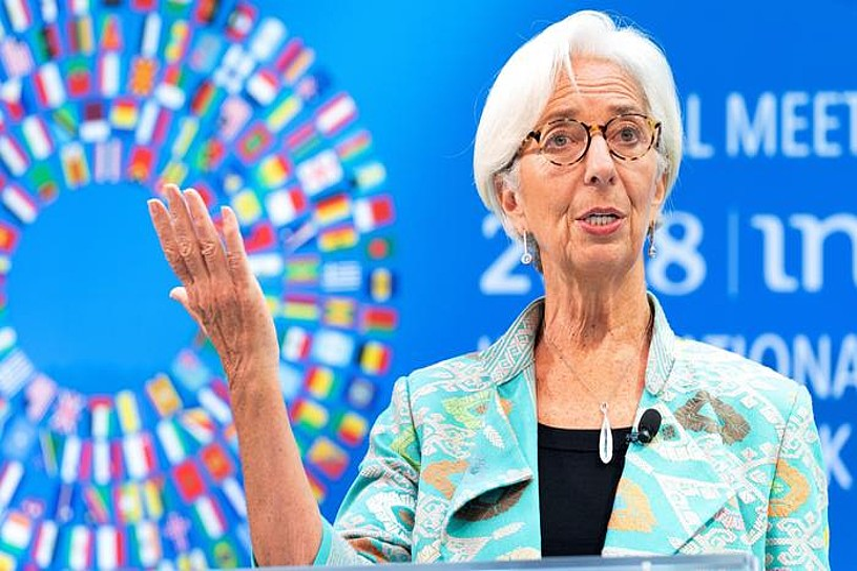 Christine Lagarde NDFko zuzendaria, joan den astean. ©STEPHEN JAFFE / EFE