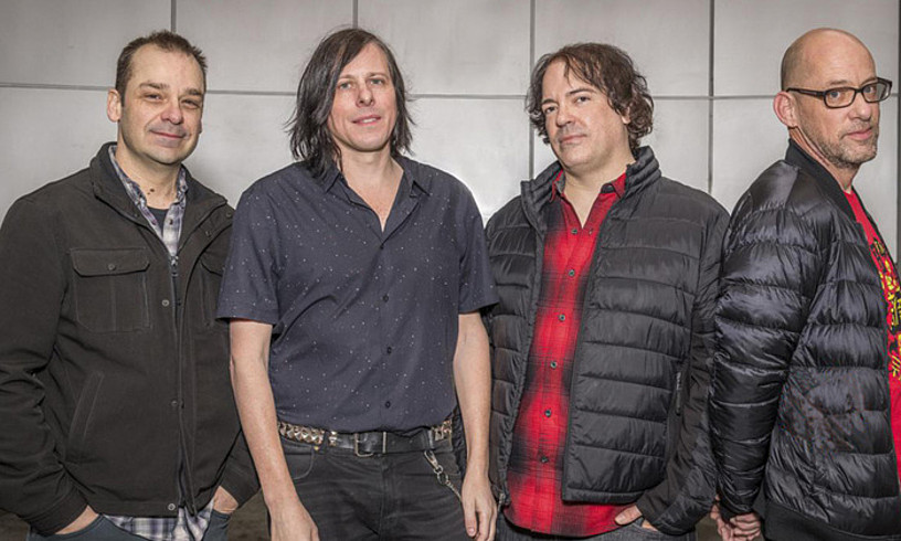 Mike Musburguer, Ken Stringfellow, Jon Auer eta Dave Fox. The Posies 2018an. ©ALAN LAWRENCE