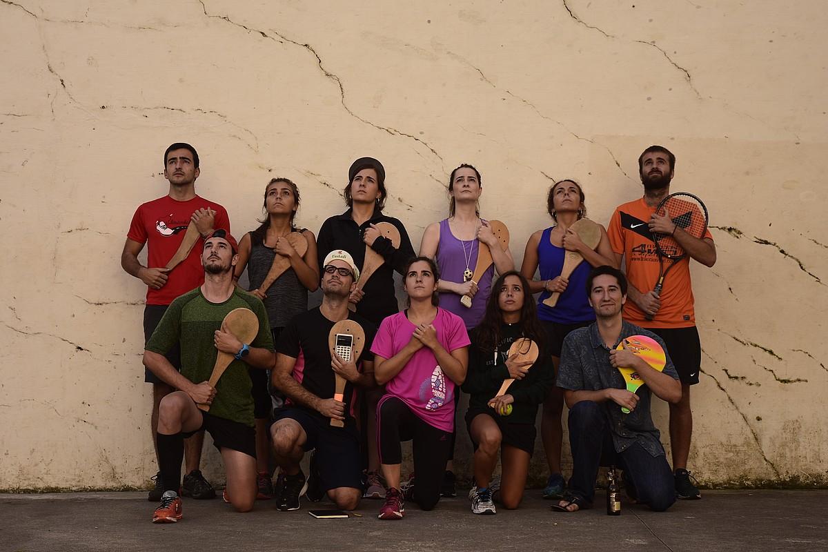 Barrexerka taldeak eguneroko bizimodua du abiapuntua umorezko esketxak egiteko. ©BARREXERKA