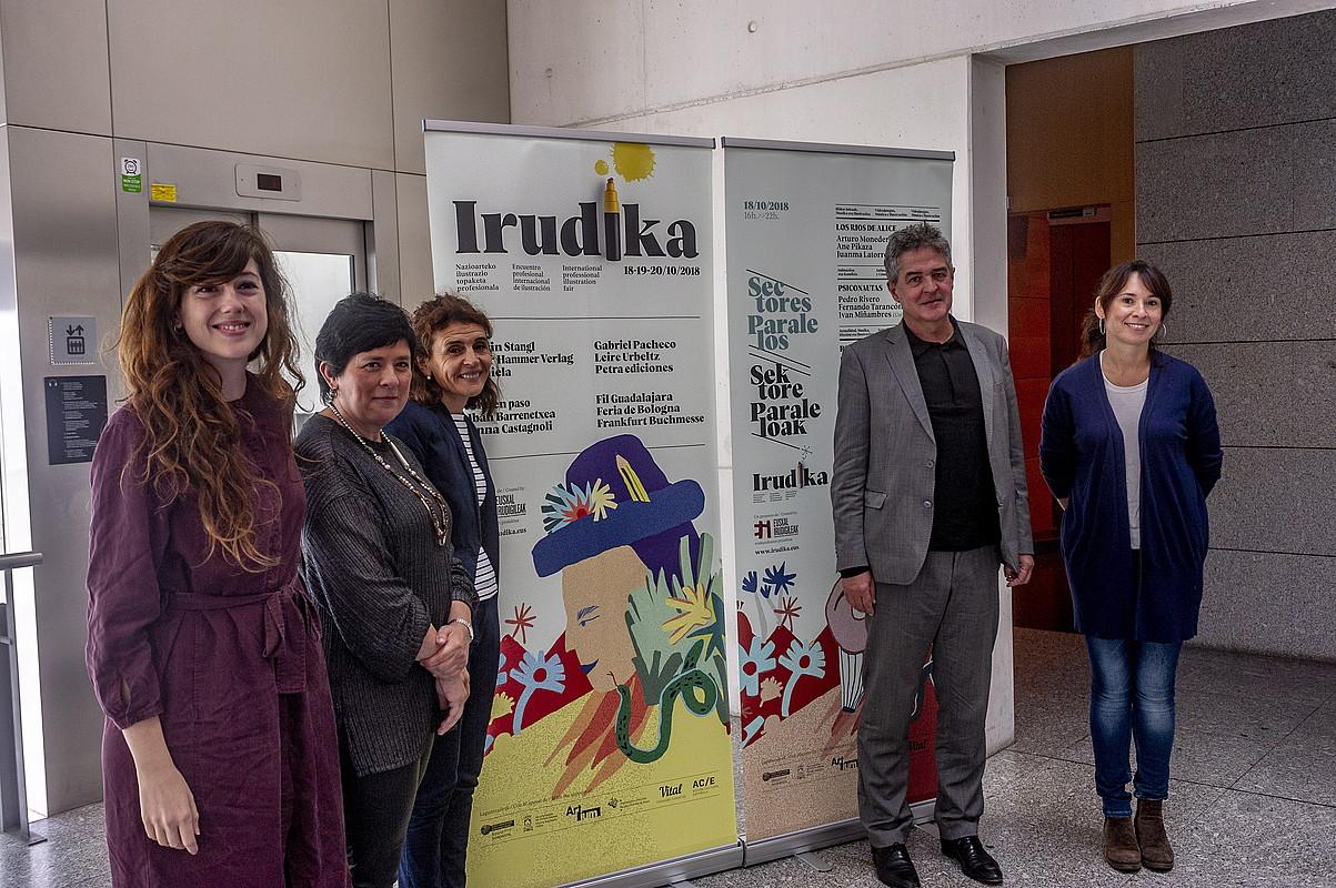Euskal ilustratzaileen nazioartekotzea sustatu nahi du Irudika topaketak