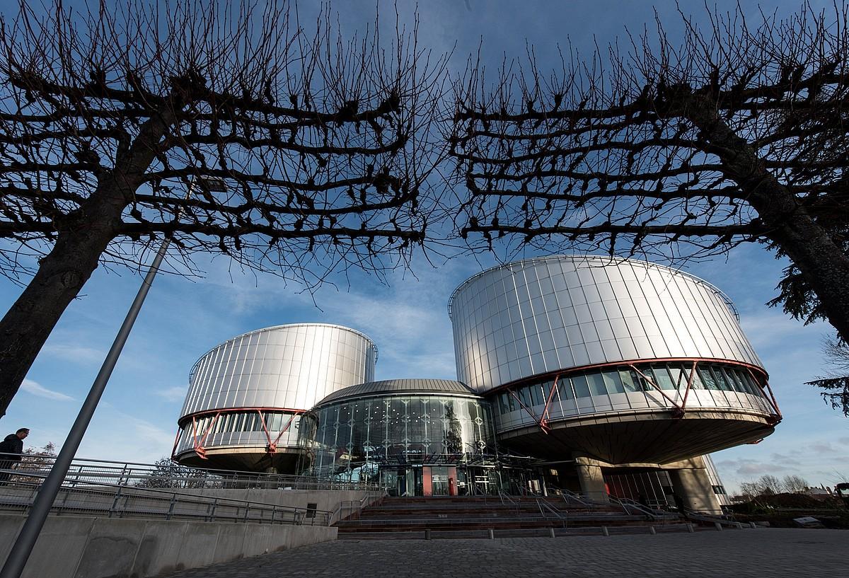 Europako Giza Eskubideen Auzitegiak Estrasburgon (Frantzia) duen egoitza.