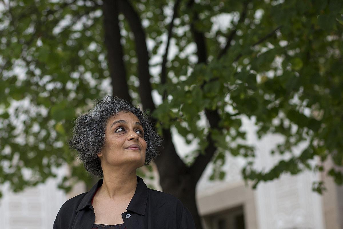 Arundhati Roy idazle indiarra. ©QUIQUE GARCIA / EFE