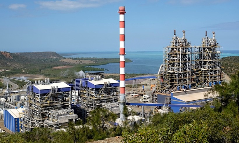 Koniambo Nickel enpresaren lantegia, artxiboko irudi batean. ©THEO ROUBY / AFP