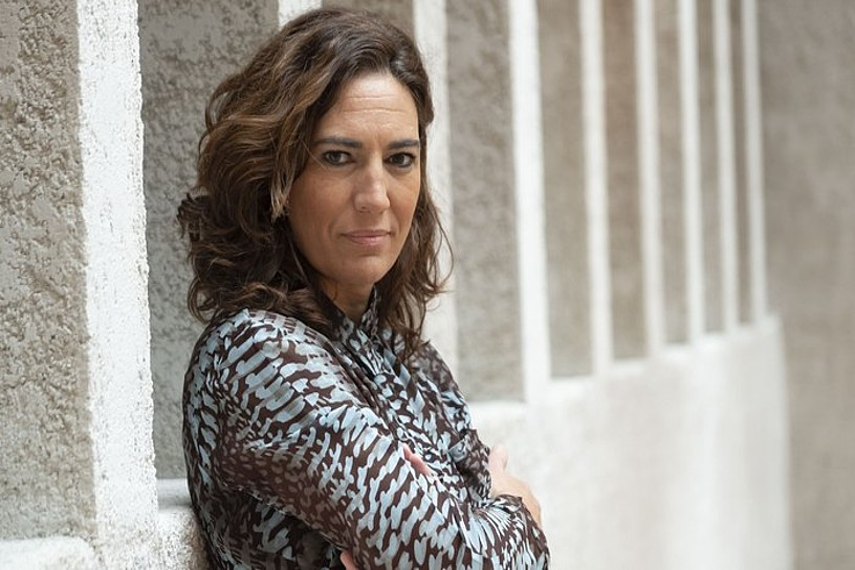 Susana Erroz, ETB2ko <em>Navarra Directo</em> saioko aurkezlea. &copy;EITB