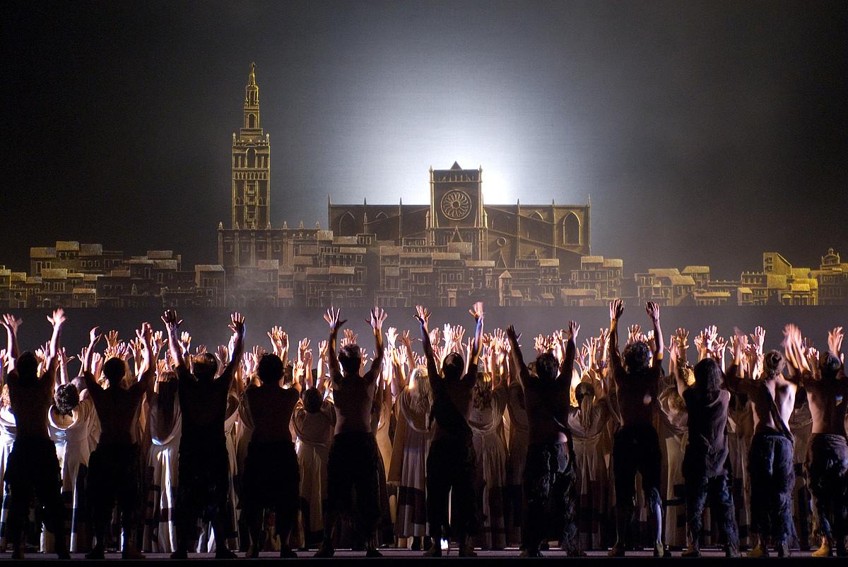 Ludwig van Beethovenen <em>Fidelio</em> opera. &copy;GUILLERMO MENDO / OLBE