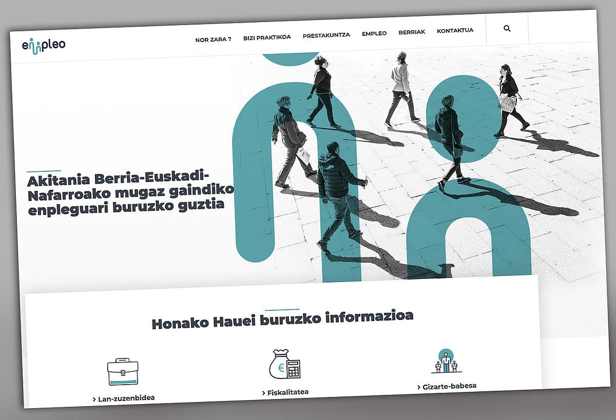 <em>Empleo-info.eu</em> webgunearen irudia. &copy;BERRIA