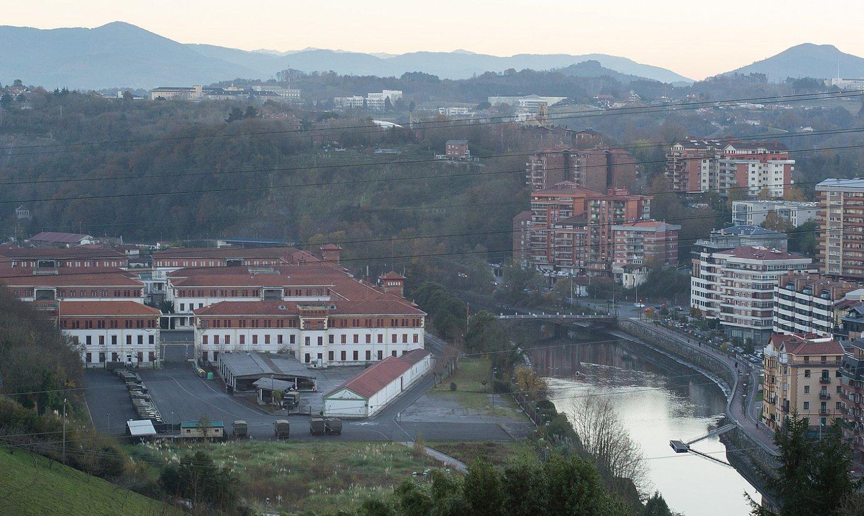 Loiolako kuartel militarra eta inguruko lurrak. ©ANDONI CANELLADA / FOKU