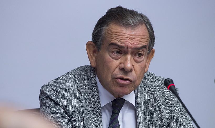 Jose Antonio Asiain CANeko presidente ohia, irailean. ©IÑIGO URIZ / FOKU