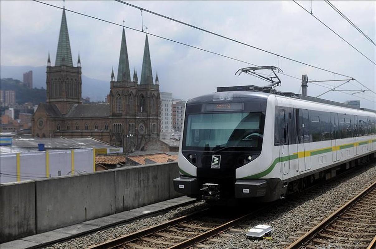 Medellingo metrorako tren gehiago egingo ditu CAFek. ©CAF