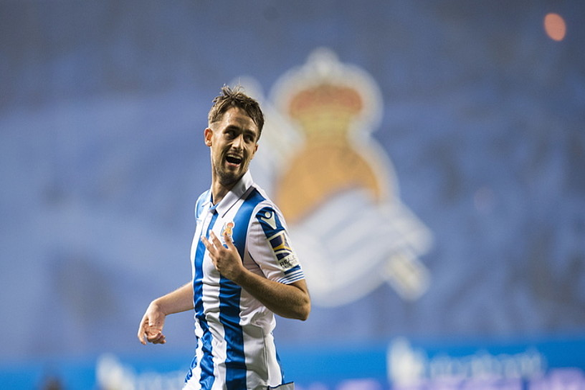 Adnan Januzaj, asteazkenean Celatari Espainiako Kopan sartutako gola ospatzen. ©JUAN CARLOS RUIZ / ARGAZKI PRESS