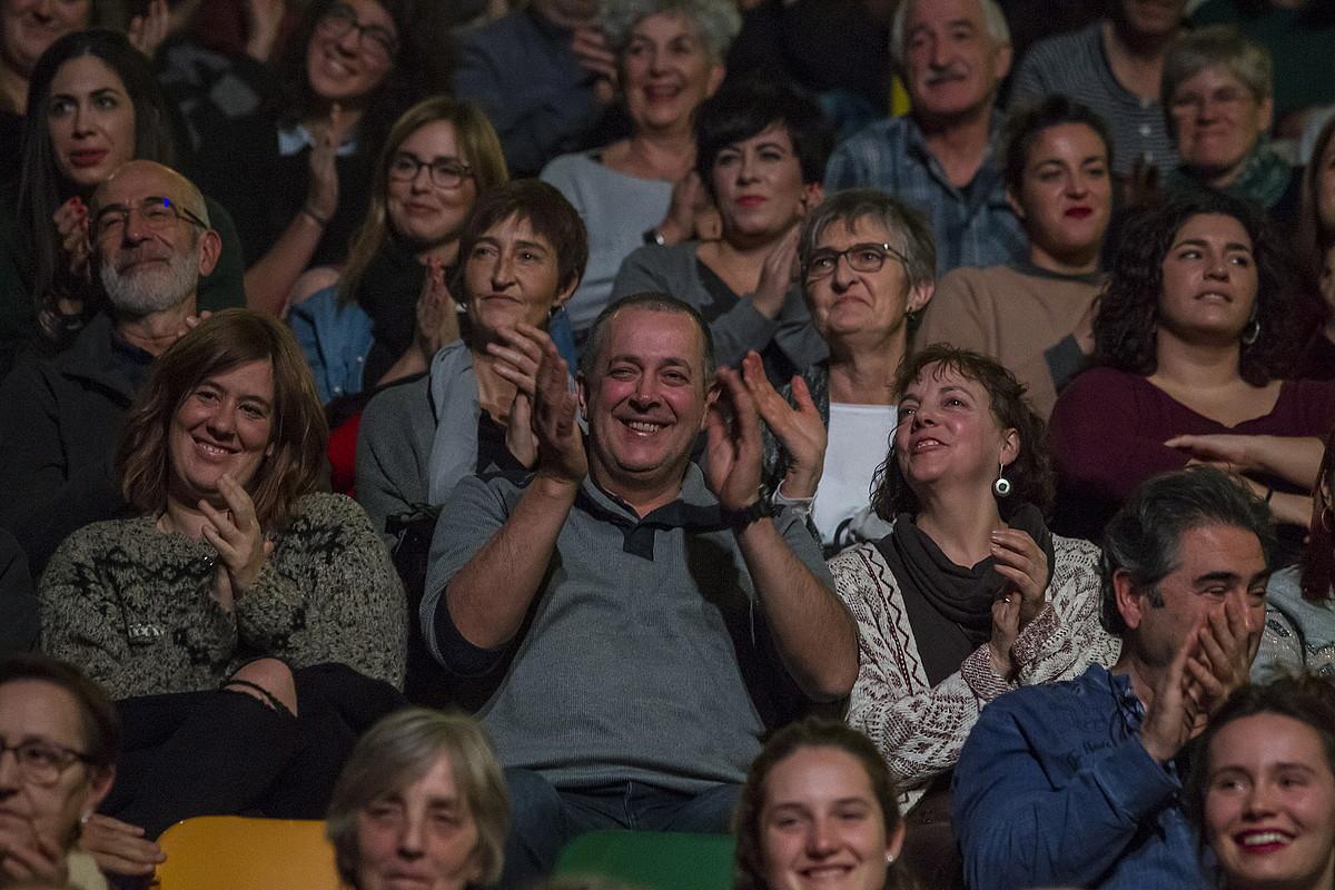 Zaleak Miribillan, atzo, finalean. ©ARITZ LOIOLA / FOKU