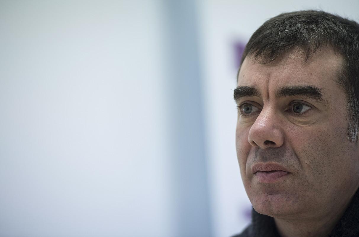 Eduardo Santos Ahal Dugu-ko Nafarroako idazkari nagusia. ©JAGOBA MANTEROLA / FOKU