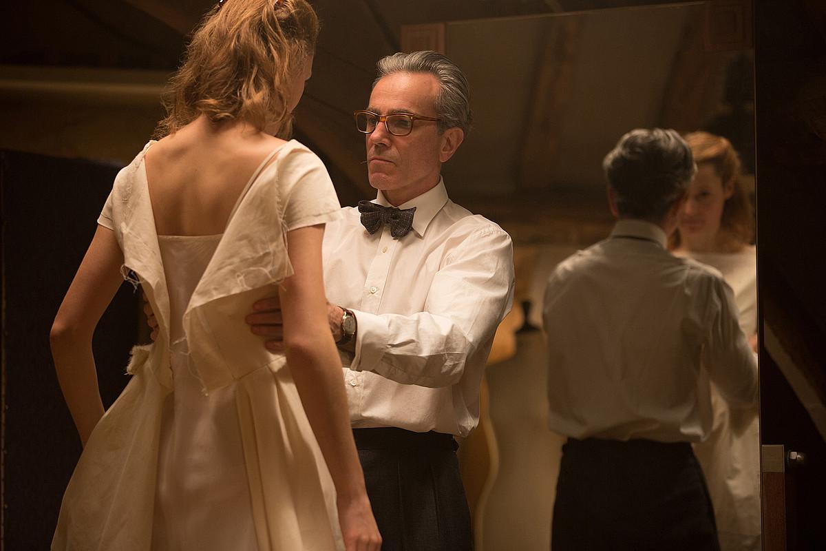 Paul Thomas Andersonen <em>Phantom Thread</em> izan da urteko film aipagarrienetako bat. ©BERRIA