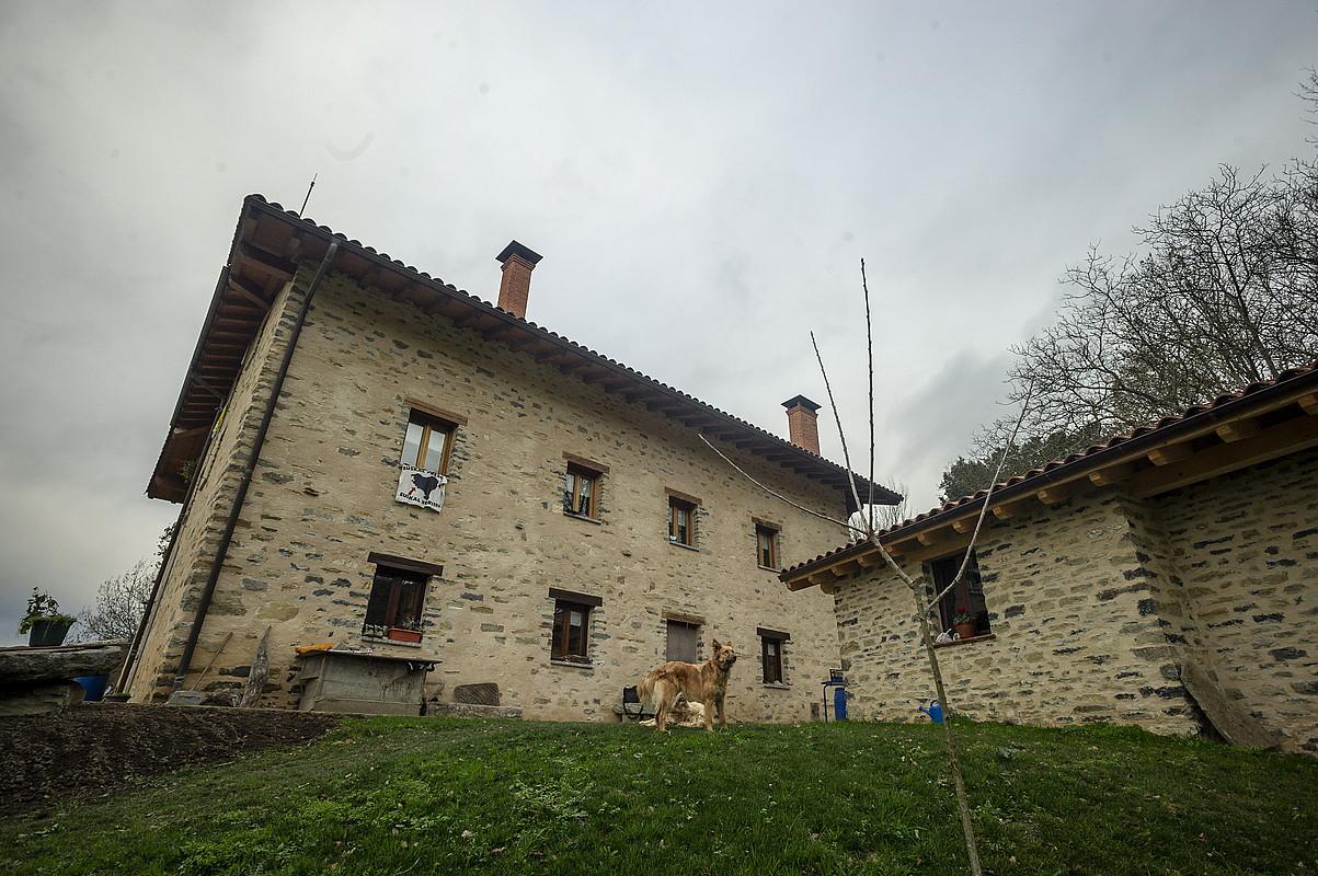 Erasoa pairatu zuen baserria, Lezaman (Amurrio, Araba). ©JAIZKI FONTANEDA / FOKU