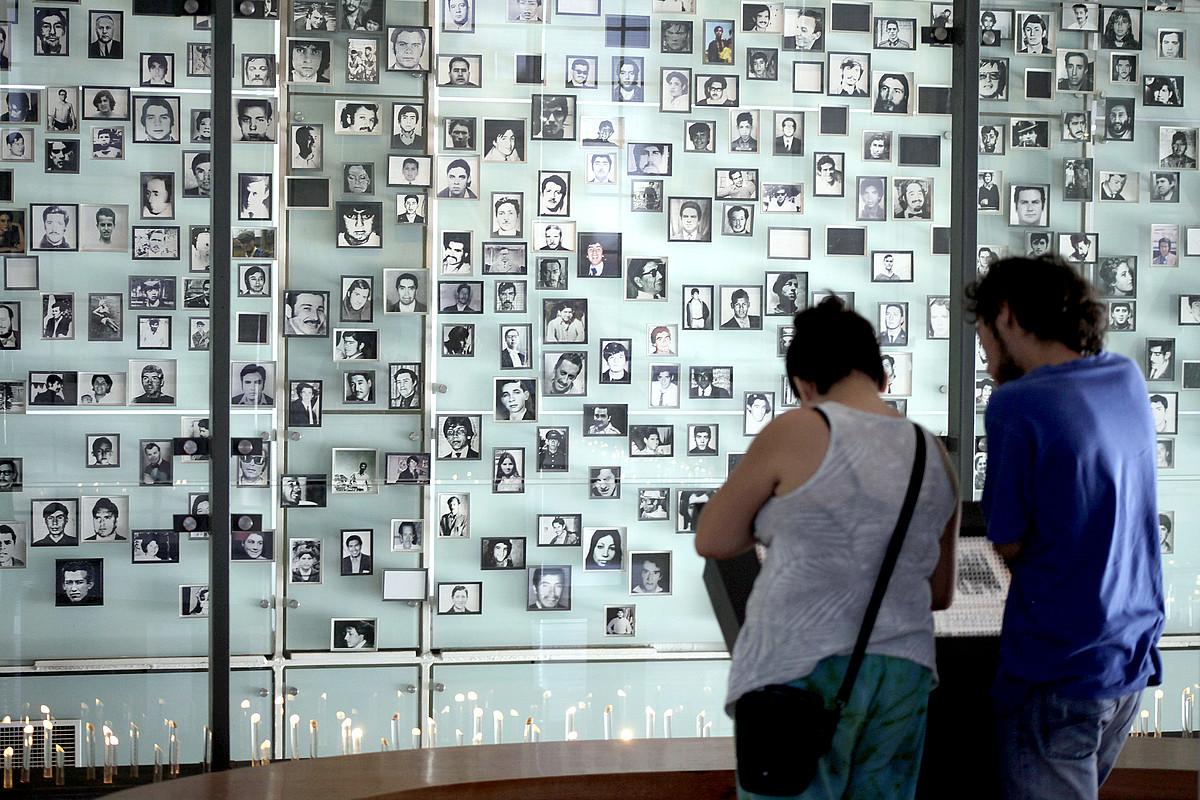 Memoria eta Giza Eskubideen Museoa, Txilen. ©SEBASTIAN SILVA / EFE
