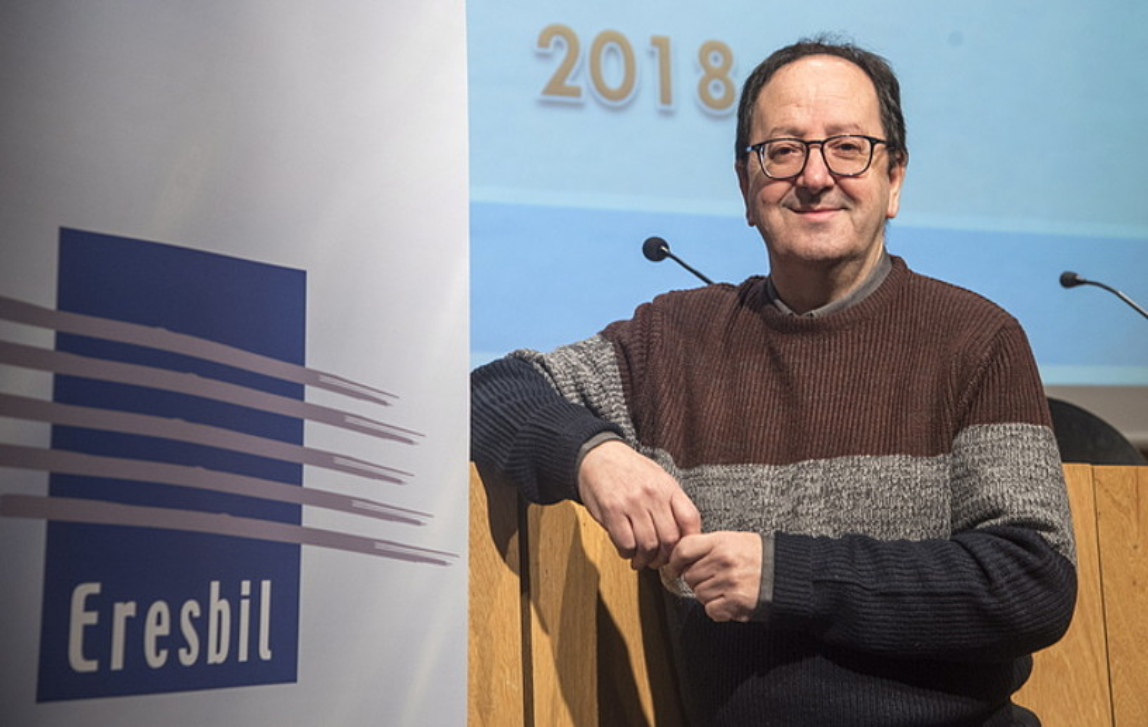 Jon Bagues Eresbileko zuzendaria, atzo, Donostian.