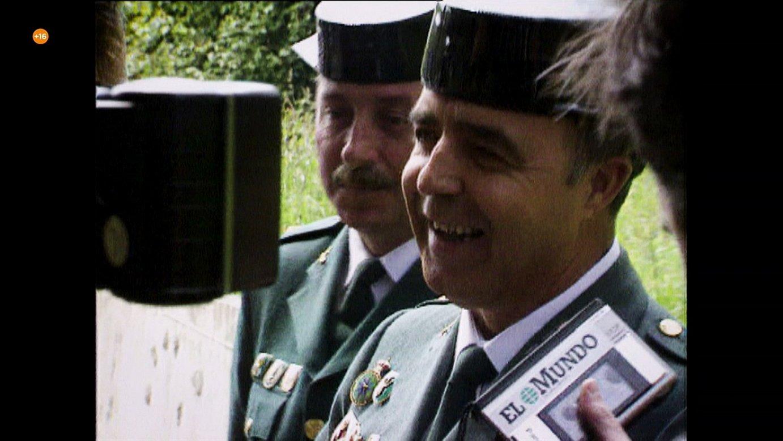 Enrique Rodriguez Galindo koronela, <em>Narcos y guerra sucia</em> erreportajeko irudi batean. &copy;ETB