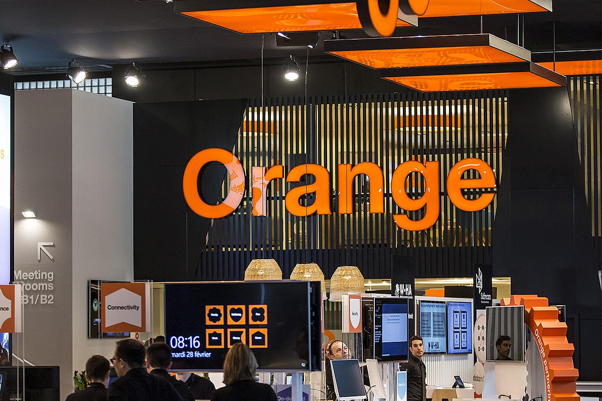 Orange Frantziako konpainiaren bulego bat.
