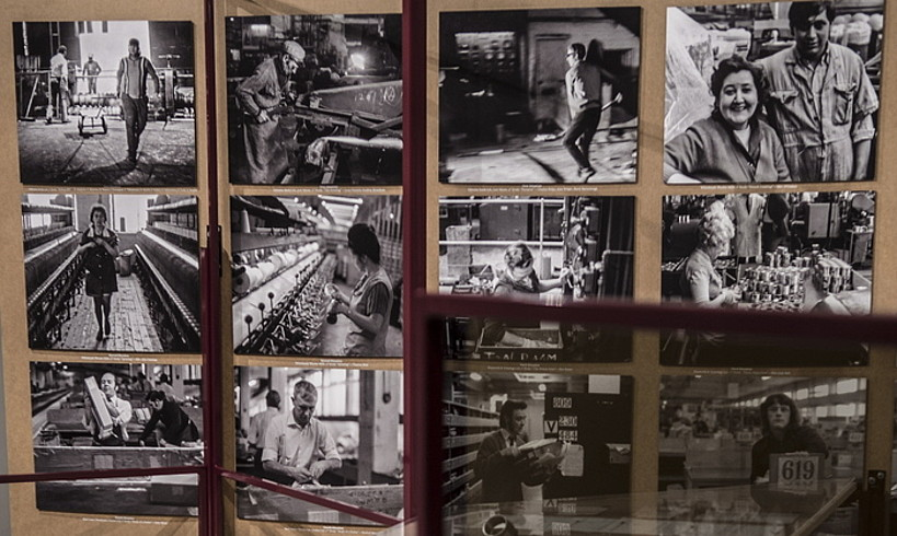 <em>Landa Lan</em> erakusketa abenduaren 1ean zabaldu zuten. ©JAGOBA MANTEROLA / FOKU