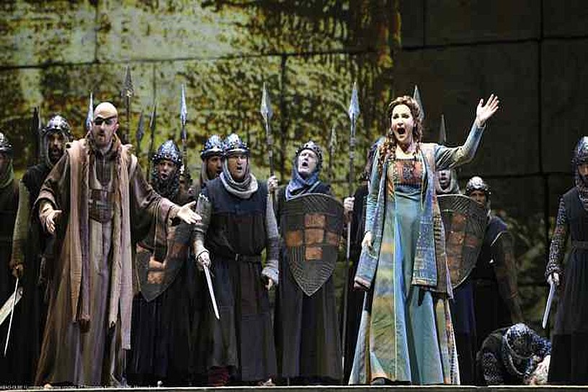 <em>Il Lombardi alla Prima Crociata</em> opera, Bilboko Euskaldunan.