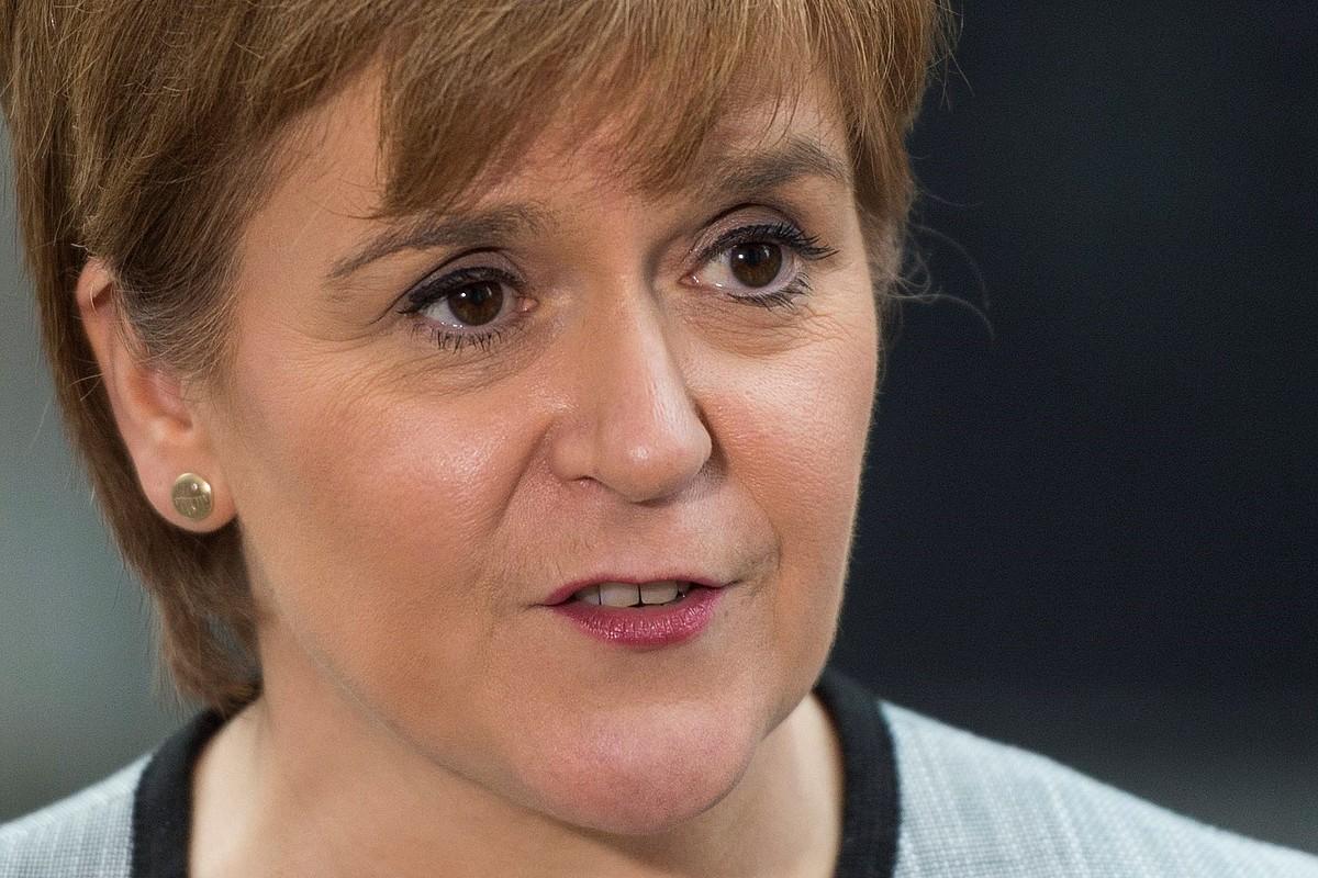 Nicola Sturgeon Eskoziakolehen ministroa. ©EFE