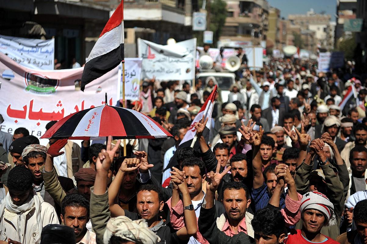 Beste herrialde arabiar askotan bezala, 2011n udaberriko iraultza gertatu zen Yemenen. ©YAHYA ARHAB / EFE