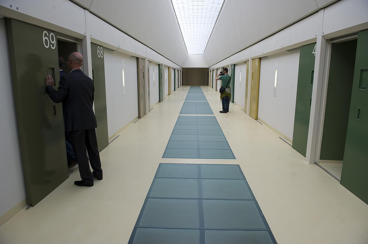 Zaballako modulu bateko korridorea. Artxiboko irudia. ©JUANAN RUIZ / FOKU
