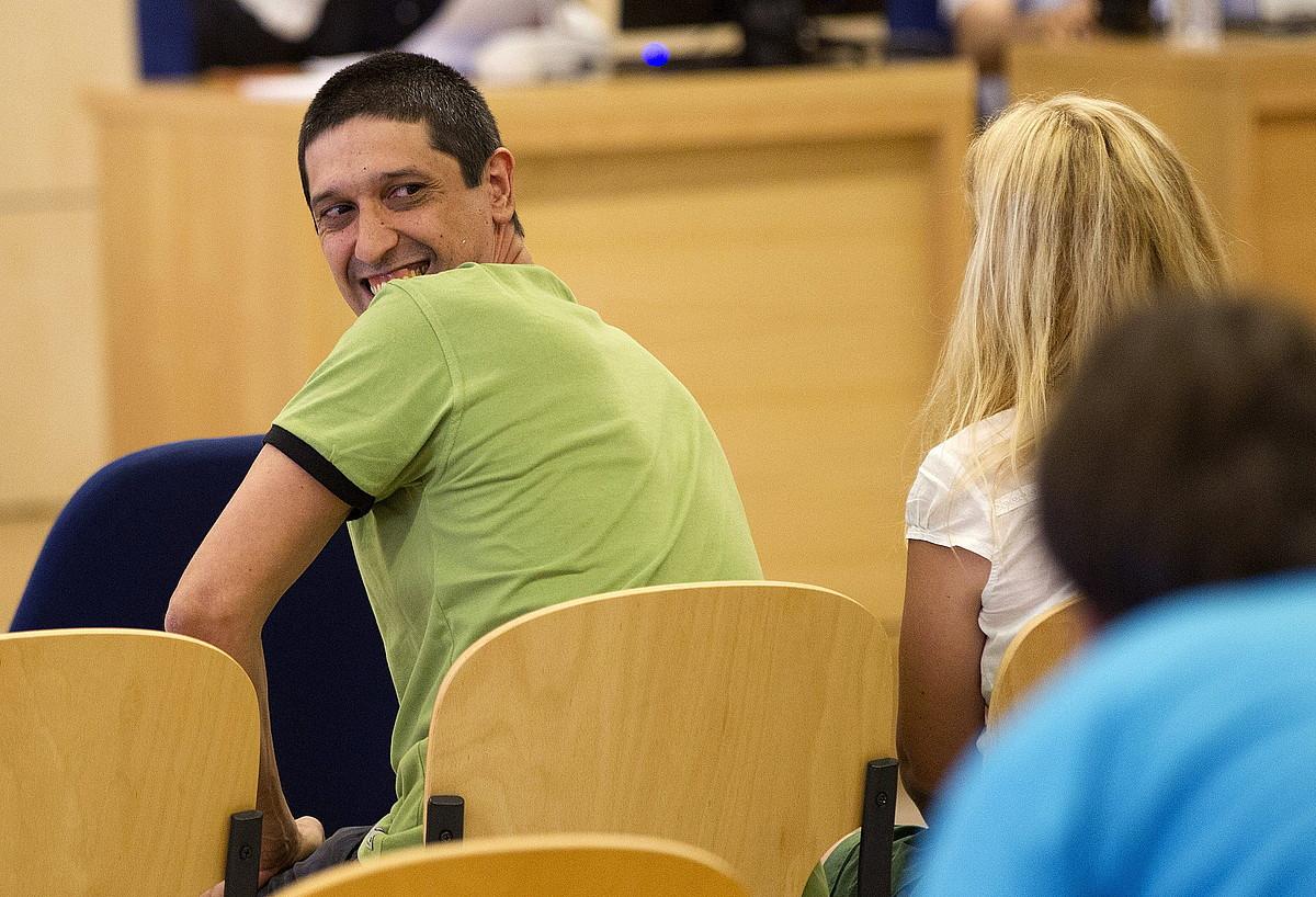 Asier Aginako, 2013ko uztailean, Espainiako Auzitegi Nazionalean, epaiketan.
