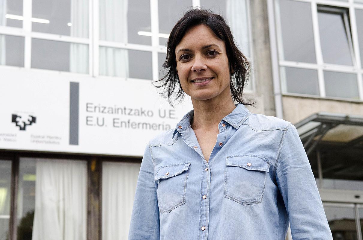 Olga Peñagarikano ikertzailea.