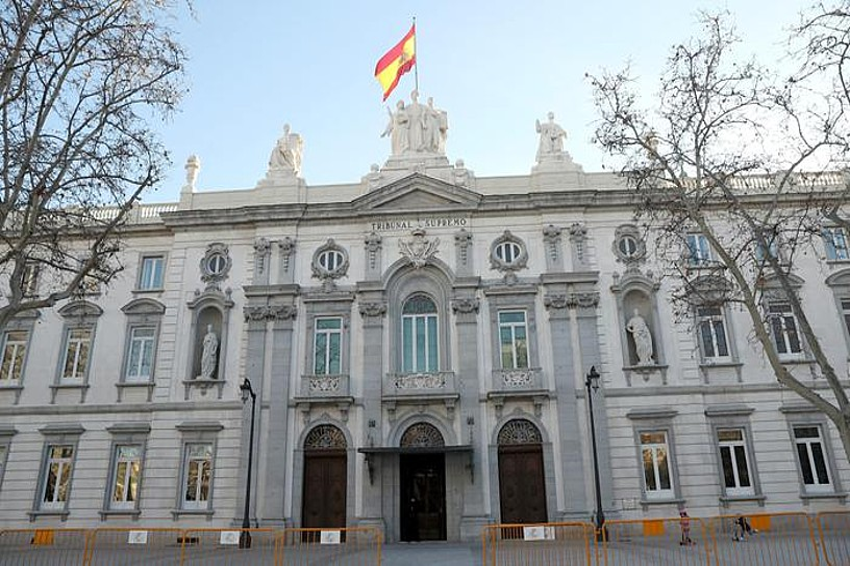 Espainiako Auzitegi Gorena. ©KIKE HUESCA / EFE