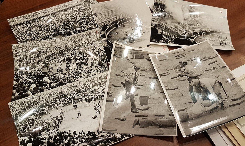 1978ko uztailaren 8an zezen plazan polizia armatuak indarkeriaz sartu zireneko argazki sorta bat. ©BERRIA