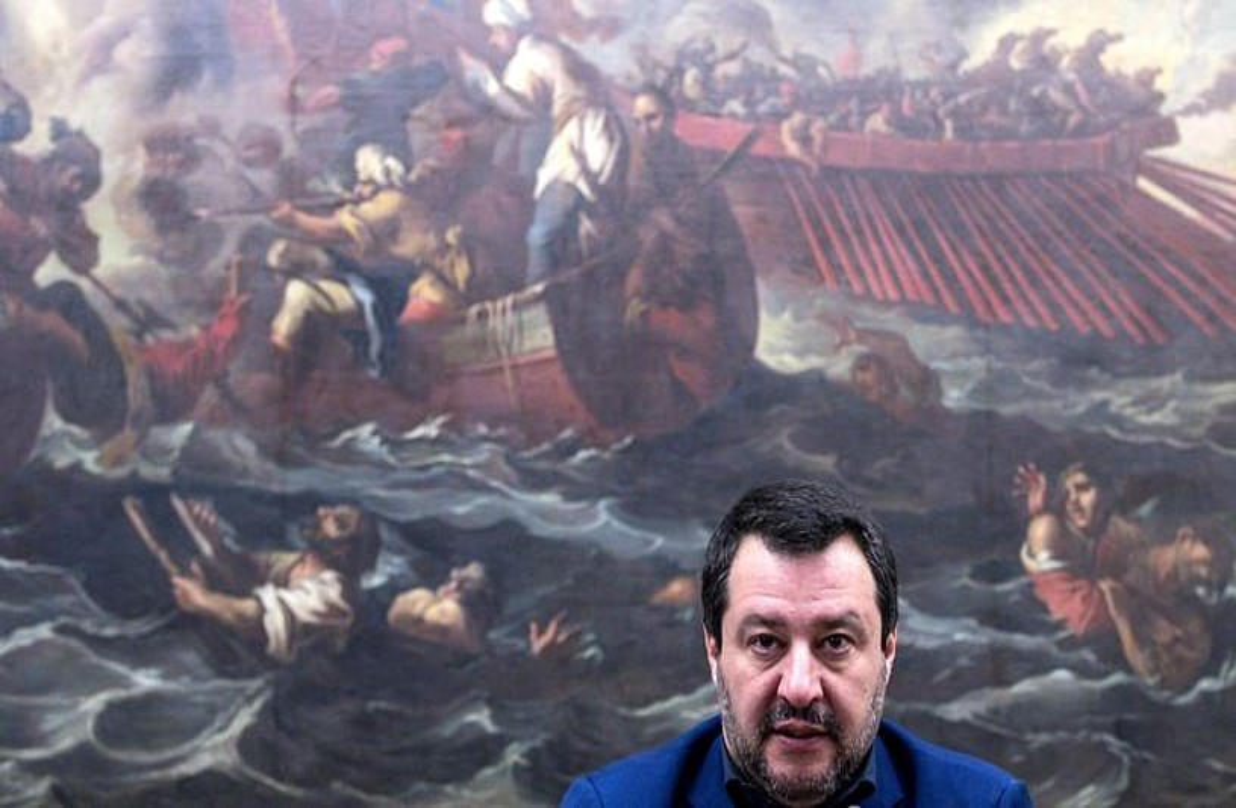 Salvini, Ordezkarien Ganberan, hilaren 11n. ©ANGELO CARCONI / EFE