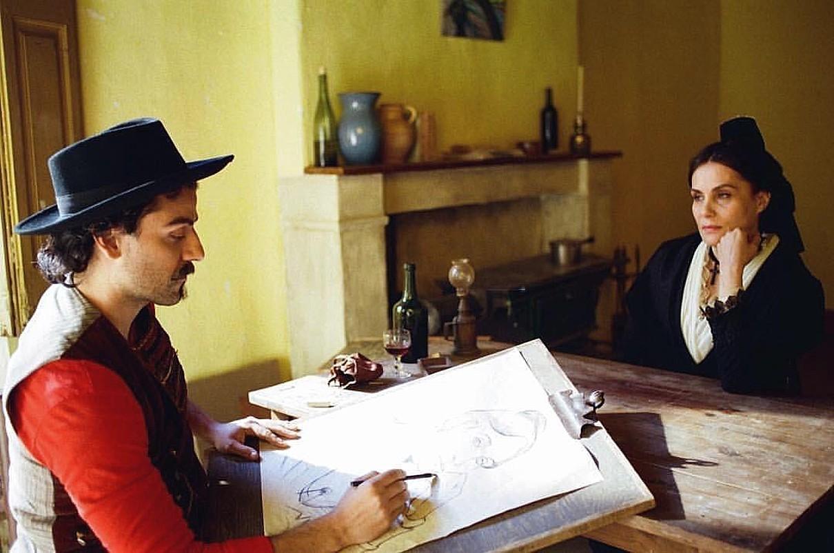 Oscar Isaac eta Emmanuelle Seigner filmeko irudi batean. ©BERRIA