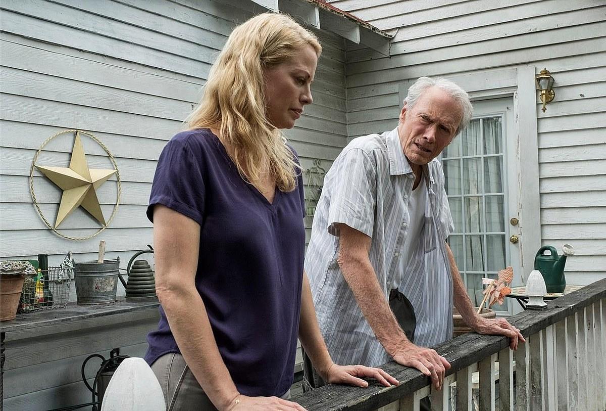 Alison Eastwood eta Clint Eastwood, filmeko irudi batean. ©BERRIA
