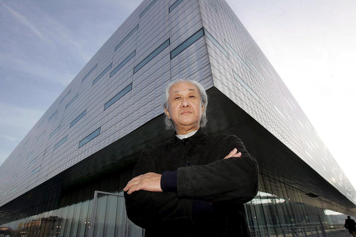 Arata Isozaki arkitektoa, Turinen (Italia), 2005ean. ©DANIEL DAL ZENNARO / EFE
