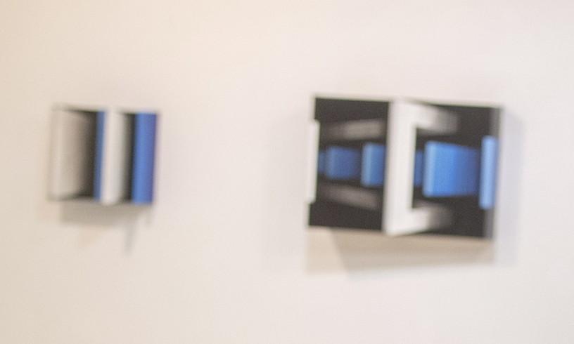 Bingen de Pedroren erakusketa Kur galerian. ©GORKA RUBIO / FOKU