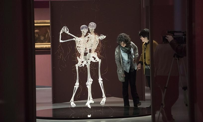 Javier Perez artistaren <em>Aria da Capo</em> (2008) obra dago ikusgai, besteak beste, <em>Heriotza</em> erakusketan. ©GORKA RUBIO / FOKU