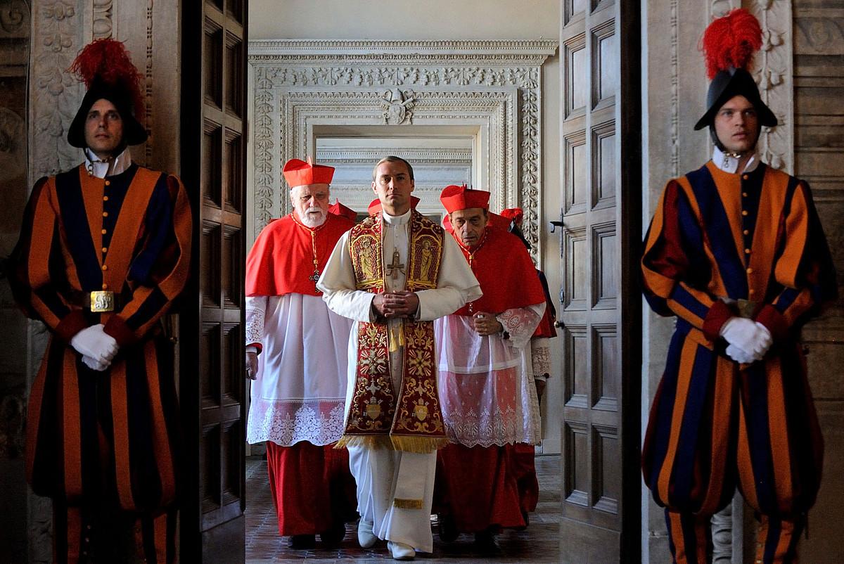 Paolo Sorrentinok zuzendutako <i>The Young Pope</i> telesaila beste ekoizpen etxeekin batera ekoitzi du Mediaprok. ©MEDIAPRO