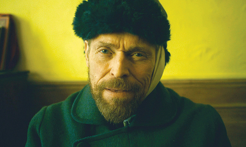 Willem Dafoe aktorea, Vincent Van Goghen rolean, <em>At Eternity's Gate</em>-n. ©BERRIA