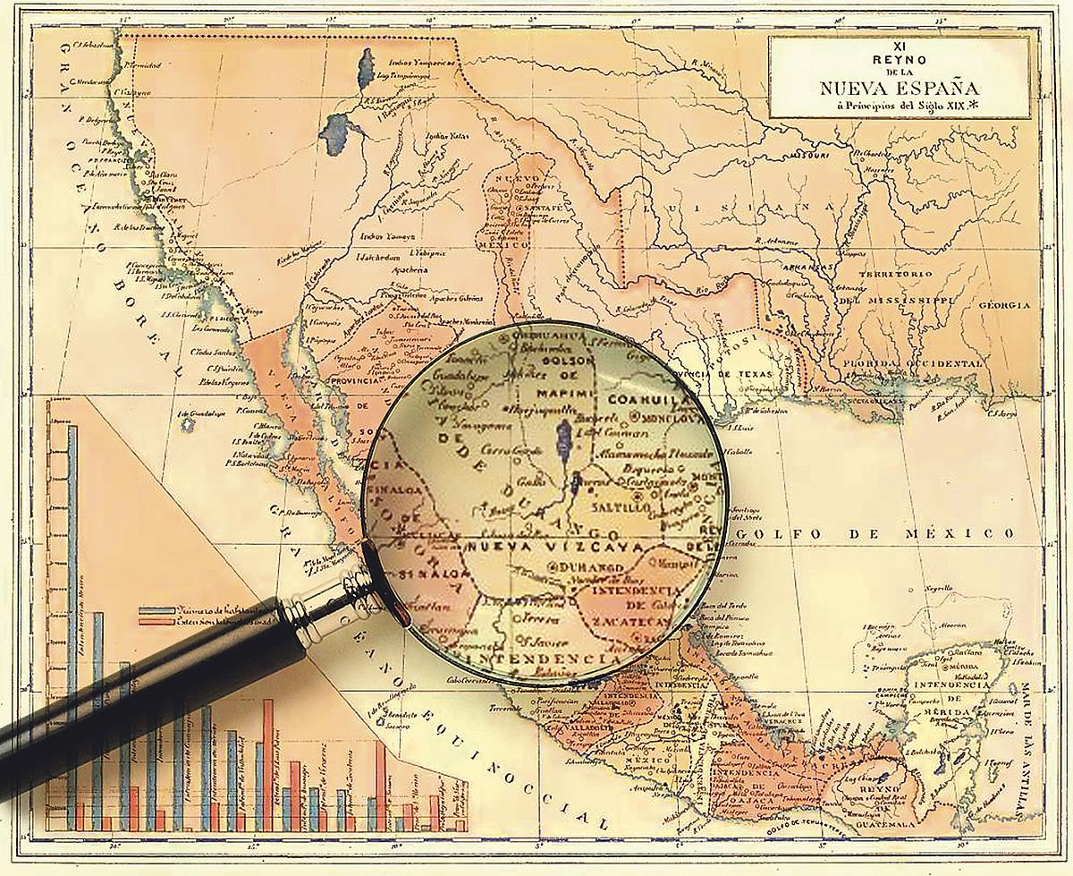 Konkistatzaile euskaldunek Bizkai Berria izena jarri zioten aztekak eta maiak garaitu ostean menperatu zituzten lurraldeetako bati. ©BERRIA