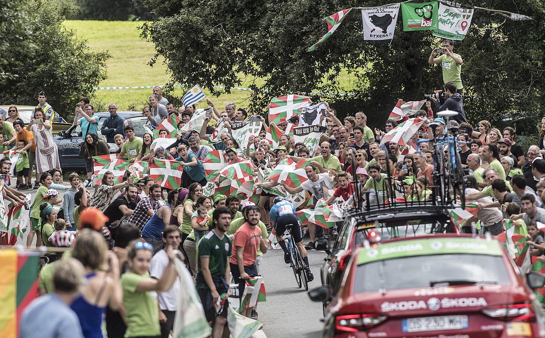 Iaz Senpere eta Ezpeleta artean jokatu zen Tourreko etapa.