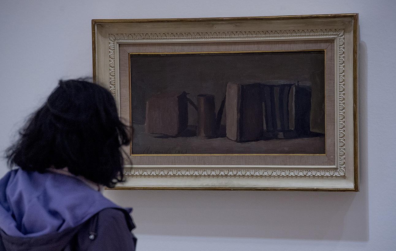 Giorgio Morandiren azken etapako natura hiletako bat. ©LUIS JAUREGIALTZO / FOKU