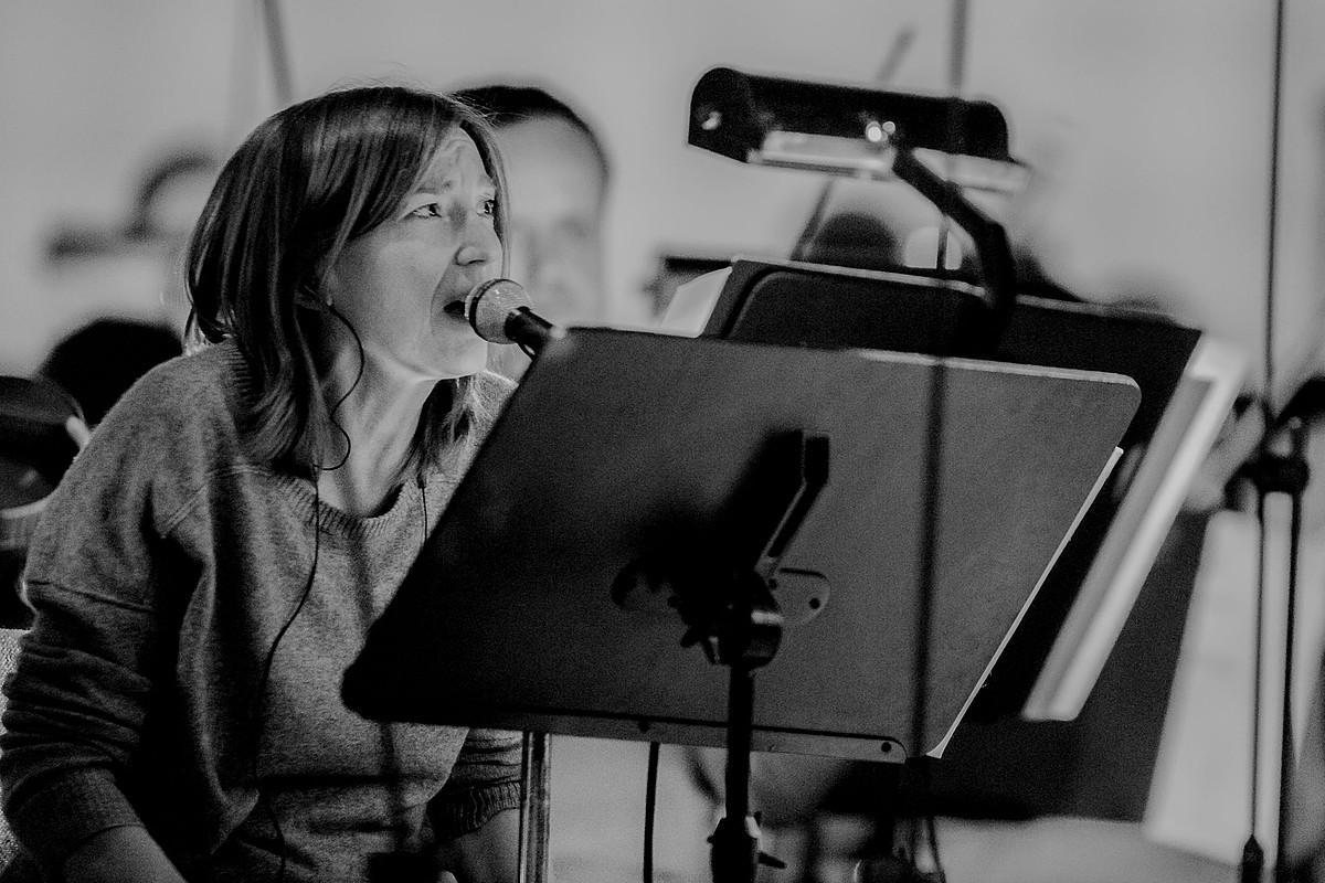 Beth Gibbons, 2014an eman zuen kontzertuaren entsegu batean. ©BERRIA
