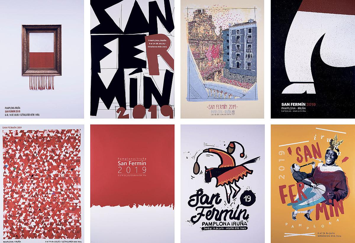 Zortzi finalistak: <em>Artea kalean dago</em>, <em>Bateratasuna</em>, <em>Atzo uztailaren 6 batekin amestu nuen</em>, <em>Zure atzetik</em>, <em>Sentimendu uholdea</em>, <em>Zerumuga</em>, <em>Zaldiko</em> eta <em>Txist-jazz, Yeah!</em>. &copy;BERRIA