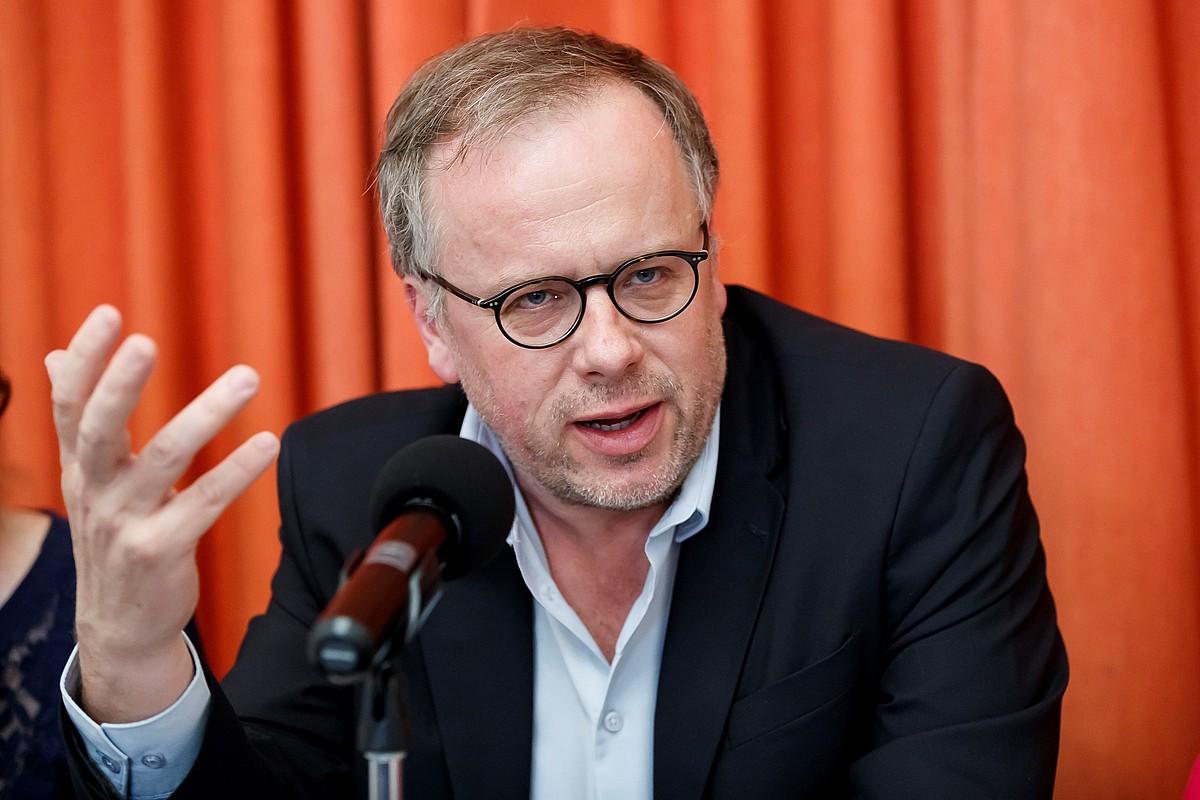 Christophe Deloire, Mugarik Gabeko Kazetarien idazkari nagusia. ©JOSE MENDEZ / EFE